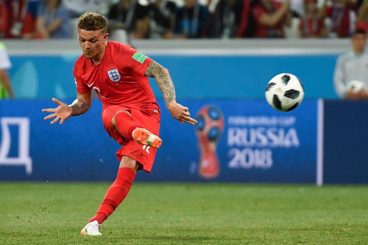 Trippier's set-piece deliveries proved vital for England and he impressed throughout