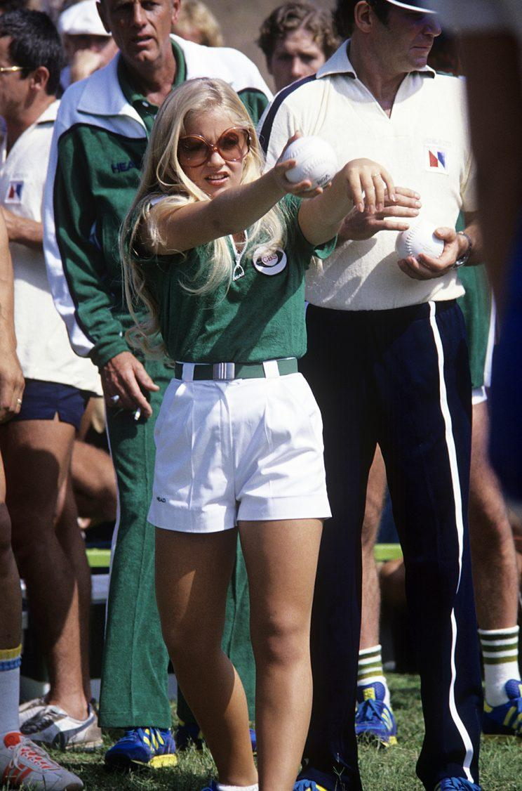 Charlene Tilton on ABC's Battle of the Network Stars. (Photo Credit: ABC Photo Archives/Getty Images)
