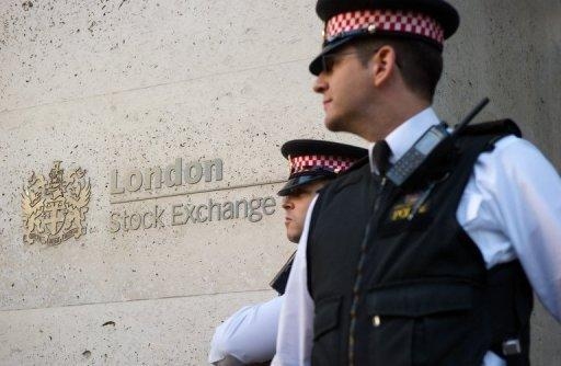 London stock exchange says income up 10%