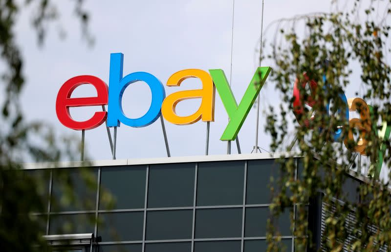 EBay forecast disappoints amid competition from Amazon, Walmart