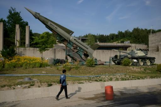 Seven decades after the Korean War began signs of the conflict still line the Demilitarized Zone that marks where the fighting came to a standstill