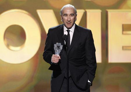 "FILE PHOTO: Gary Barber, co-CEO of MGM, accepts the award for Best Action Movie for ""Skyfall"" at the 2013 Critics' Choice Awards in Santa Monica"