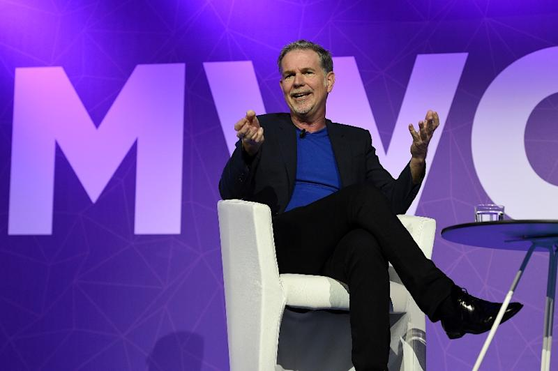 Founder and CEO of Netflix Reed Hastings said he believed mobile carriers will eventually create a two-tear system where video data is unlimited to meet the growing demand for watching TV series and movies on mobile devices