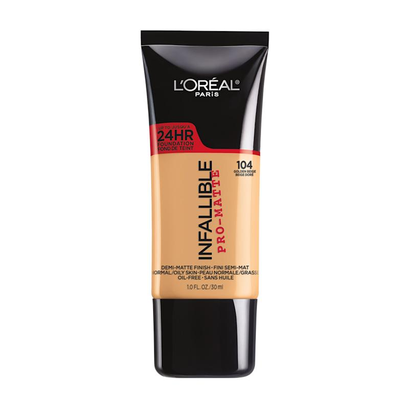 L'Oréal Paris Infallible Pro-Matte Liquid Foundation