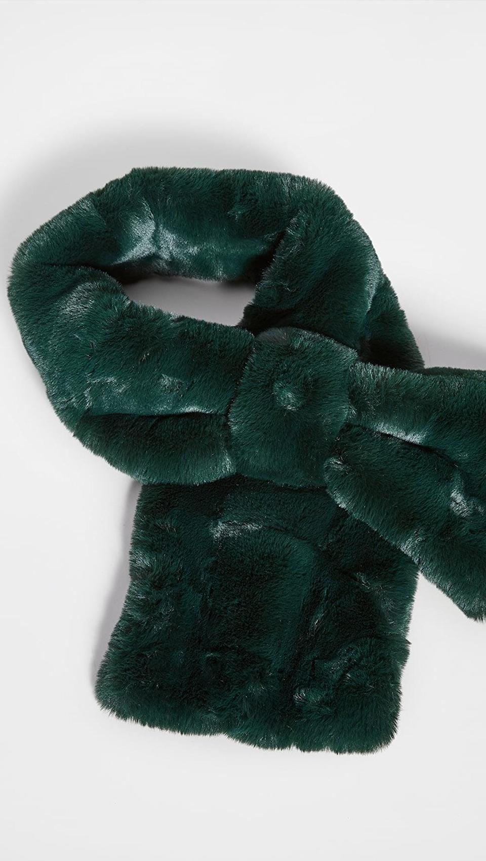 <p>They'll want to wrap themselves up in this <span>Apparis Luna Scarf</span> ($85).</p>