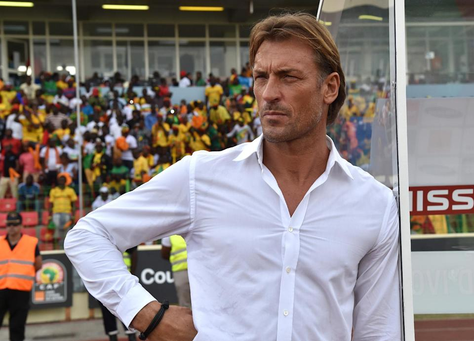 Ivory Coast coach Herve Renard boasts an enviable record in the Africa Cup of Nations (AFP Photo/Issouf Sanogo)