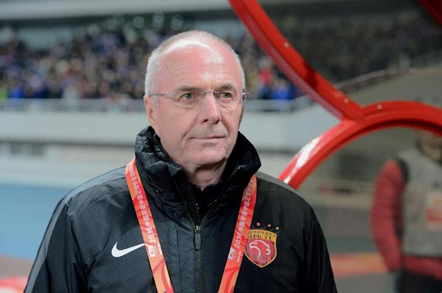 Sven-Goran Eriksson has parted ways with China's second-tier Shenzhen FC after a run of poor results (AFP Photo/STR)