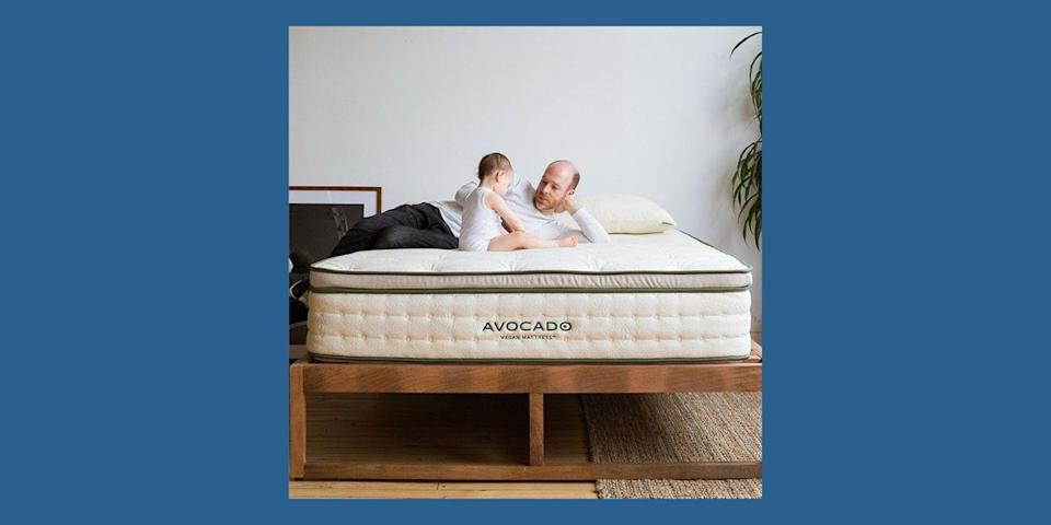 """<p><a href=""""https://go.redirectingat.com?id=74968X1596630&url=https%3A%2F%2Fwww.avocadogreenmattress.com&sref=https%3A%2F%2Fwww.housebeautiful.com%2Fshopping%2Ffurniture%2Fg32291079%2Fbest-mattress-brands%2F"""" rel=""""nofollow noopener"""" target=""""_blank"""" data-ylk=""""slk:Avocado"""" class=""""link rapid-noclick-resp"""">Avocado</a> is newer on the market, but prides itself in offering high-quality all-natural mattresses made in California. For instance, the Avocado Green Mattress, seen here, is a hybrid made with GOTS (Global Organic Textile Standard) certified-organic latex, wool, and cotton, along with 1,414 pocketed support coils. Or go with the vegan option, which is made without wool. The brand's mattresses come with a one-year sleep trial and a 25-year warranty. </p><p><a class=""""link rapid-noclick-resp"""" href=""""https://go.redirectingat.com?id=74968X1596630&url=https%3A%2F%2Fwww.avocadogreenmattress.com%2Fshop%2Favocado-mattress%2F%3Fvariant%3Dqueen&sref=https%3A%2F%2Fwww.housebeautiful.com%2Fshopping%2Ffurniture%2Fg32291079%2Fbest-mattress-brands%2F"""" rel=""""nofollow noopener"""" target=""""_blank"""" data-ylk=""""slk:BUY NOW"""">BUY NOW</a> <strong>Avocado Green Mattress, $1,399, <em>avocadogreenmattress.com</em></strong></p>"""