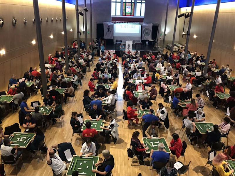 Some 256 players from countries such as France, Italy and Russia took part in the seventh edition of the World Mahjong Championship, held in PHOTO: Mahjong Club du Rhône