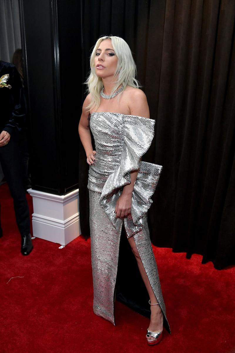 Ally Walker Hot Pics yup, lady gaga's grammys dress is basically a sexy disco ball