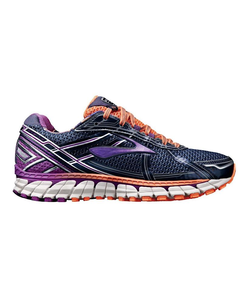 """<p><strong>Brooks Adrenaline GTS 15</strong><br /> These shoes focus on stability and smoothness in heel-to-toe transitions to take the pressure off of your joints. Extra cushioning makes for comfortable runs, and cool new colors add style points. Available in three colors.</p> <p><strong>To buy:</strong> $85, <a href=""""http://www.anrdoezrs.net/links/7876406/type/dlg/sid/RS%2C6%20Sneakers%20for%20Every%20Foot%20Type%E2%80%A8%E2%80%A8%20/http://www.roadrunnersports.com/rrs/products/BRK1159/womens-brooks-adrenaline-gts-15/"""" target=""""_blank"""">roadrunnersports.com</a>.</p>"""