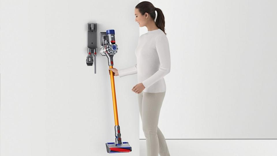 Yes, the Dyson V8 Absolute Vacuum is as fun as it looks (Photo: Dyson)