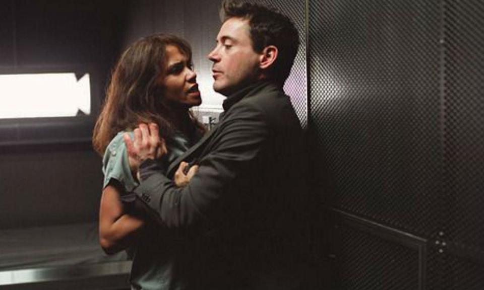 <p>Berry has Robert Downey Jr. to thank for a breaking her arm on the set of this 2003 chiller. Downey accidentally grabbed the actress a little too roughly during a scene and Berry spent the rest of the shoot wearing a cast. </p>