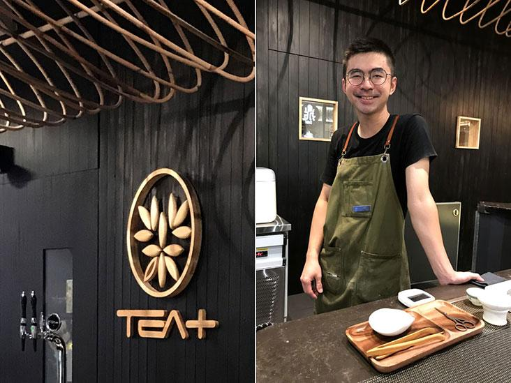 Veteran barista Pee Weng Foo is a Tea+ 'cha-tender'
