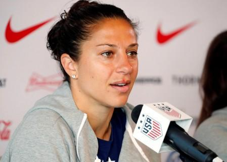FILE PHOTO: Soccer: Womens World Cup-USA Press Conference