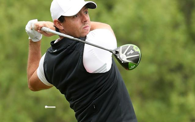 <span>McIlroy has been playing with a Callaway driver this season</span> <span>Credit: Getty Images </span>