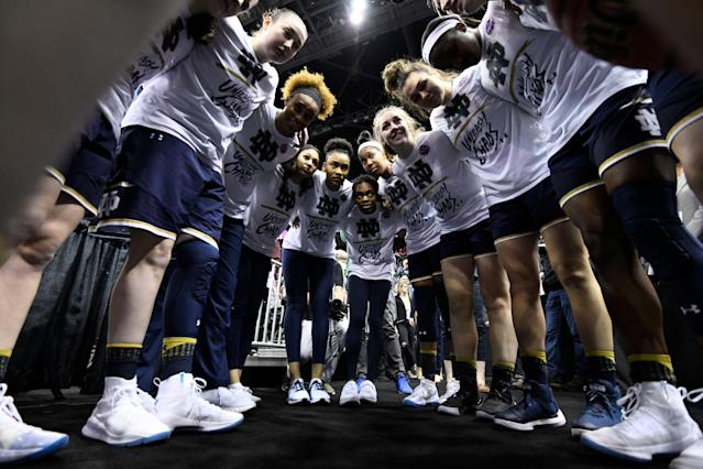 For the first time ever, NCAA women's basketball fans can indulge in their own tournament simulator. (Getty Images)