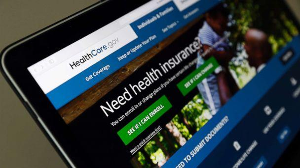 PHOTO: The Healthcare.gov website is seen on a laptop computer on May 18, 2017, in Washington, D.C. (Alex Brandon/AP, FILE)
