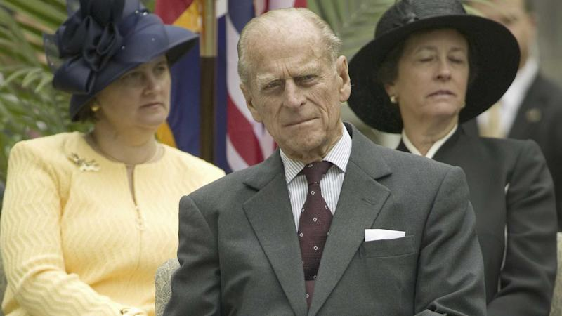 Prince Philip at James Fort, Virginia USA 2007
