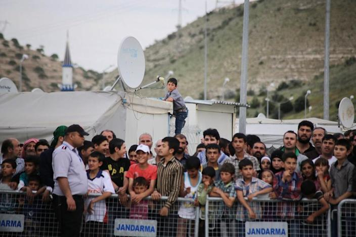 """Since the migrant deal was agreed in March to """"break the business model"""" of smugglers, the numbers of Syrians, Iraqis and others fleeing war and turmoil via Turkey to Greece has slowed to a trickle (AFP Photo/)"""