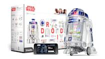 <p>Kids get to play Jedi with a <span>LittleBits Star Wars Droid Inventor Kit</span> ($100) that allows them to guide R2-D2 with their hands once they're all done building him from electronic blocks. It's so cool, you might even have a little fun with it too.</p>