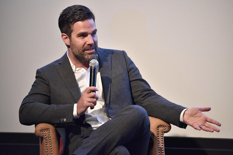 Rob Delaney, pictured here in 2016, has written a candid essay about his vasectomy. (Getty Images)