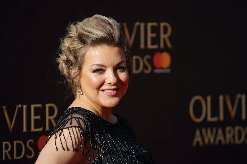 LONDON, ENGLAND - APRIL 09:  Sheridan Smith attends The Olivier Awards 2017 at Royal Albert Hall on April 9, 2017 in London, England.  (Photo by Mike Marsland/Mike Marsland/WireImage)