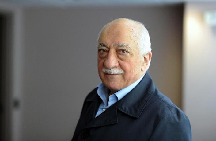 Exiled Turkish Muslim preacher Fethullah Gulen had over the last years built up a substantial media presence in Turkey (AFP Photo/Selahattin Sevi)