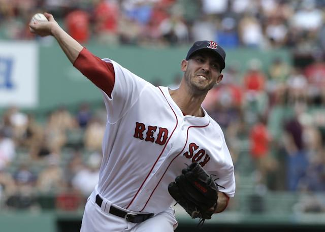 Rick Porcello's 22-4 record gives him a lot of cred with traditional Cy Young voters. (AP)