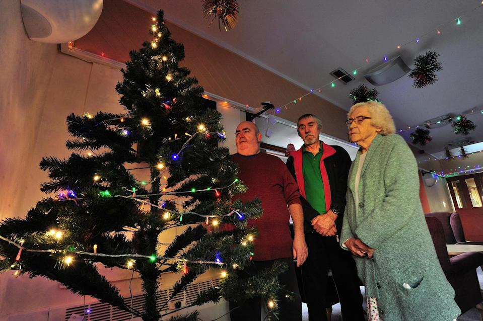 <em>'Miserable' – residents are allowed decorations in their flats but not in communal areas</em>