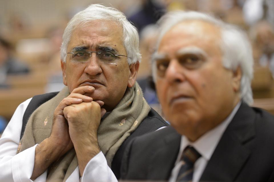 'Doubting Thomases' suffering from periodic 'pangs of anxiety': Salman Khurshid on Sibal's criticism