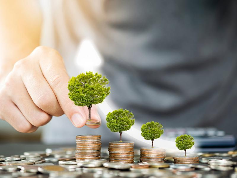 Stock image illustrating the concept of a green economic recovery: Getty