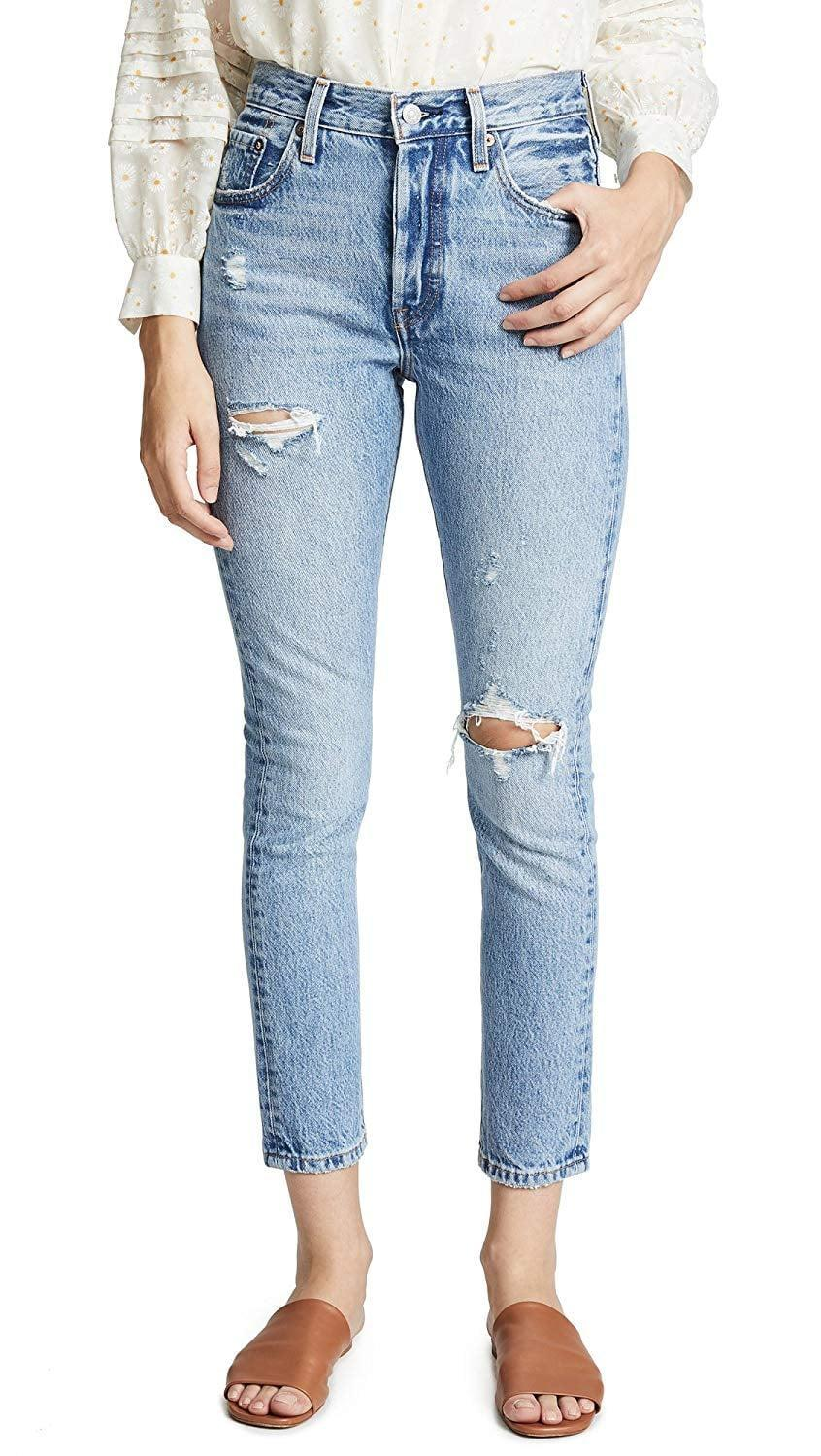 <p>You can't go wrong owning these classic <span>Levi's 501 Skinny Jeans</span> ($29-$98).</p>