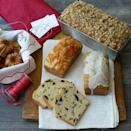 """<p>You can add practically any fruit to a classic quick bread dough, but the combo of Granny Smith apples and dried plums is especially tasty. </p><p><strong><a href=""""https://www.countryliving.com/food-drinks/recipes/a3544/dried-plum-apple-loaf-crumble-topping-recipe-clv1210/"""" rel=""""nofollow noopener"""" target=""""_blank"""" data-ylk=""""slk:Get the recipe"""" class=""""link rapid-noclick-resp"""">Get the recipe</a>.</strong></p><p><a class=""""link rapid-noclick-resp"""" href=""""https://www.amazon.com/USA-Pan-1140LF-Bakeware-Aluminized/dp/B0029JQEIC/?tag=syn-yahoo-20&ascsubtag=%5Bartid%7C10050.g.35246097%5Bsrc%7Cyahoo-us"""" rel=""""nofollow noopener"""" target=""""_blank"""" data-ylk=""""slk:SHOP LOAF PANS"""">SHOP LOAF PANS</a><br></p>"""