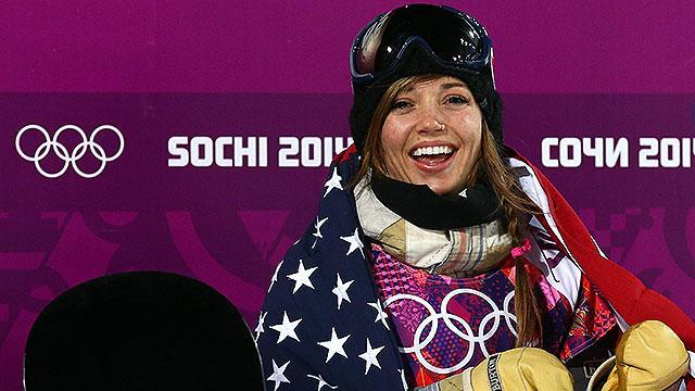 Snowboarder Kaitlyn Farrington's family traded in cattle for gold medal