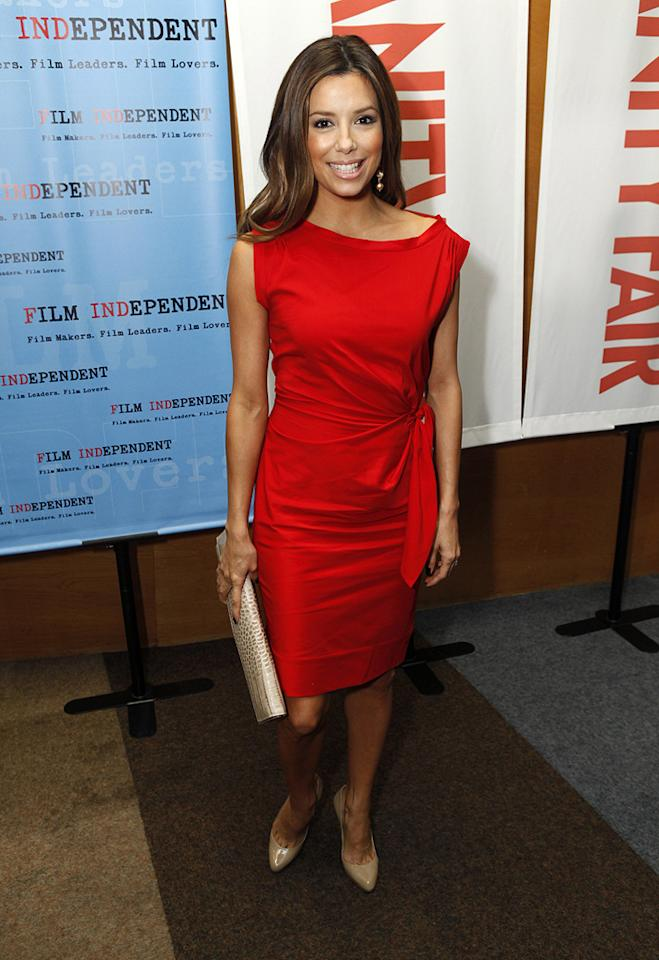 """<a href=""""http://movies.yahoo.com/movie/contributor/1804763686"""">Eva Longoria Parker</a> at the Los Angeles premiere of <a href=""""http://movies.yahoo.com/movie/1809912209/info"""">Phoebe in Wonderland</a> - 03/01/2009"""