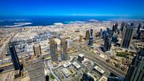 <p>You can snap up some decent deals to this glitzy United Arab Emirates city, which boasts year-round sunshine and winter temperatures of at least 30C. If you can tear yourself away from the air con in the world's largest shopping malls, check out Jumeirah Beach, ride a camel or quad bike into the desert or lounge by the pool. [Photo: Flickr/Gilbert Sopakuwa] </p>