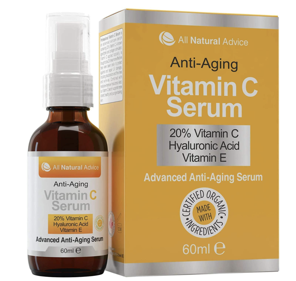 All Natural Advice 20% Vitamin C Serum - Amazon.