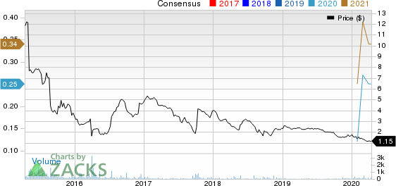 WILLIAMS INDUSTRIAL SERVICES GROUP INC. Price and Consensus