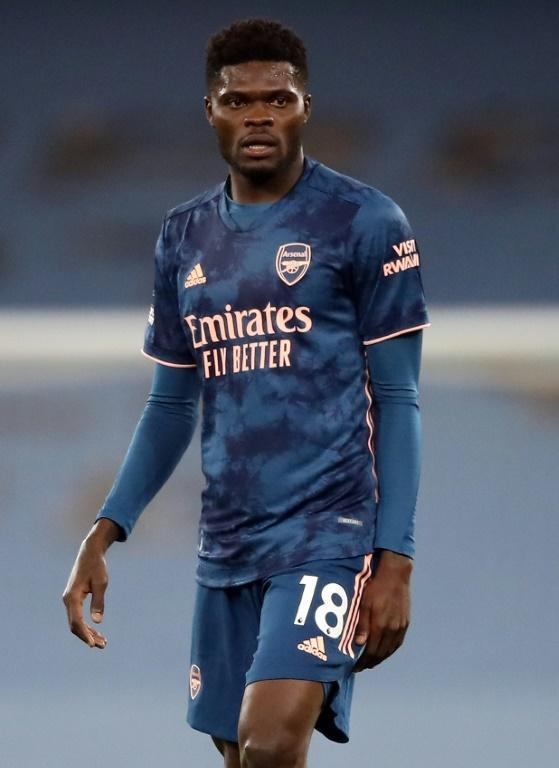 Arsenal's Ghanaian midfielder Thomas Partey