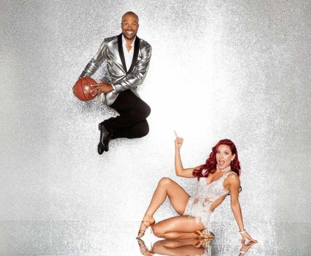 PHOTO: Derek Fisher and pro dancer Sharna Burgess will compete for the mirror ball title on the new season 'Dancing With The Stars.' (Craig Sjodin/ABC)