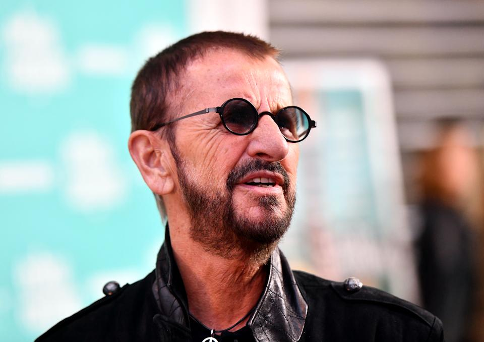HOLLYWOOD, CALIFORNIA - MAY 23: Musician Ringo Starr attends the premiere of 'Echo in the Canyon' at ArcLight Cinerama Dome on May 23, 2019 in Hollywood, California. (Photo by Scott Dudelson/Getty Images)