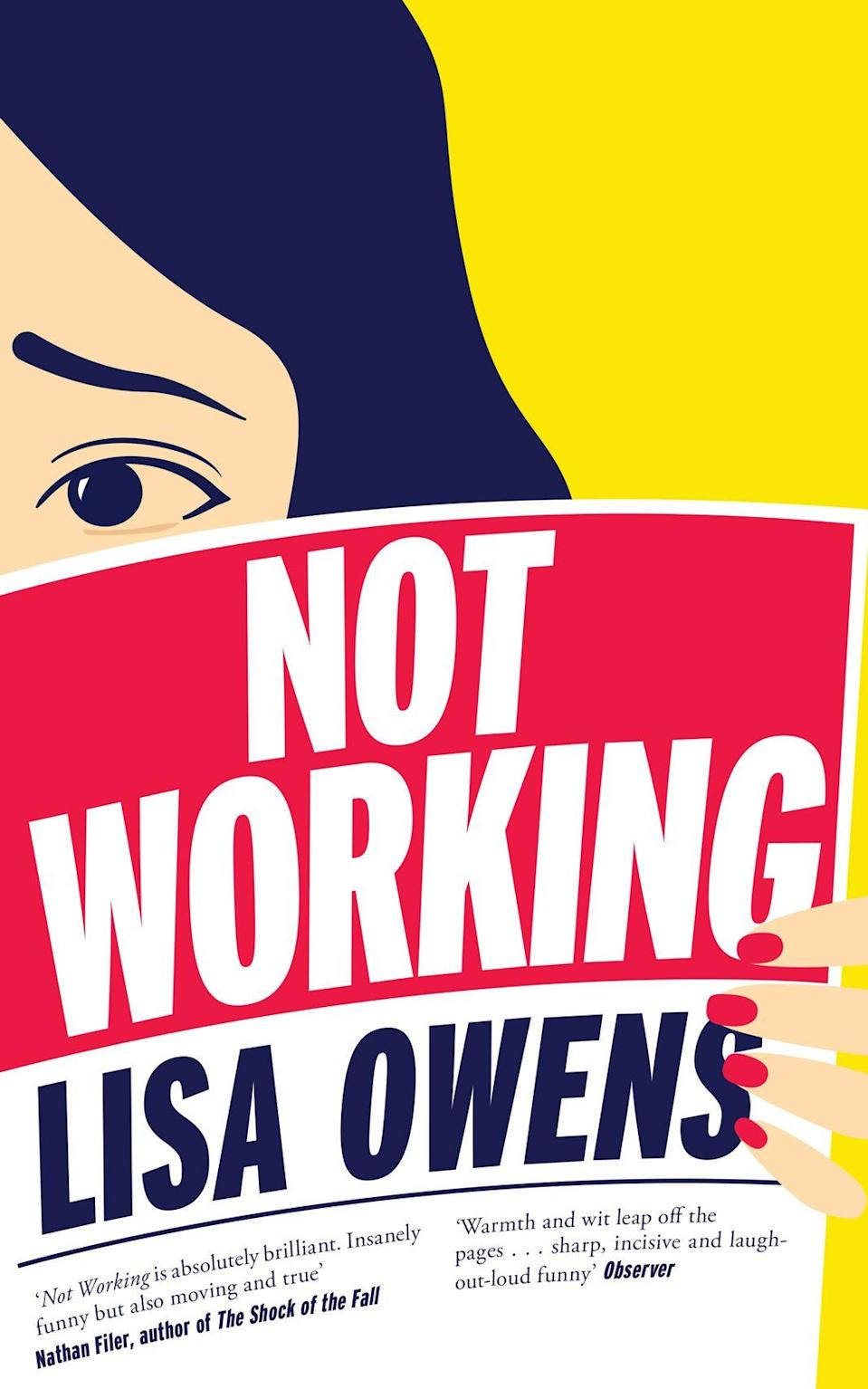 <p><strong><em>Not Working</em></strong></p><p>By Lisa Owens</p><p>If you've ever struggled with finding your place in the world or working out where your true passion lies, Lisa Owens' debut novel is for you. While everyone around narrator Claire Flannery appears to have their life under control, our lovable protagonist can't stop wasting her time entering online competitions. Anyone who's ever worked from home or outside of a typical nine-to-five will empathise, while those stuck in a demanding job will find the book an enlightening exploration of how the other half lives.</p>
