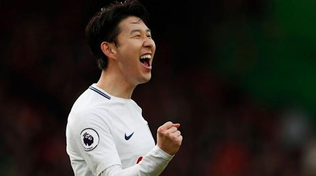 """<p>Tottenham forward Heung-min Son is set to enter contract negotiations over the next few weeks following an outstanding run of form this season.</p><p>The South Korean has already scored 18 goals and claimed nine assists across all competitions this season, a combined tally which is just four less than what Son managed last year.</p><p>The 25-year-old moved to north London for £27m in 2015 after spending the previous seven years in Germany, working through the ranks at Hamburg before joining Bayern Leverkusen.</p><p>Son appears to have cemented his place in Mauricio Pochettino's first-team this season and <a href=""""http://www.skysports.com/football/news/11675/11292601/heung-min-son-and-tottenham-to-discuss-new-deal"""" rel=""""nofollow noopener"""" target=""""_blank"""" data-ylk=""""slk:Sky Sports"""" class=""""link rapid-noclick-resp"""">Sky Sports</a> understand that the club will approach their versatile winger with a new contract over the next few weeks.</p><p>The South Korean's current deal is set to expire in 2020 and Spurs are keen to avoid a similar problem that their north London rivals find themselves in all too often.</p><p>Although Tottenham have been playing their home matches at Wembley this season, the club will be back where they belong next season when the construction on their new stadium, which will be the largest club stadium in London, is finished.</p><p>With a degree of uncertainty surrounding the futures of Harry Kane and Dele Alli, signing Son to a new long-term contract, couple with the stadium move, will be a real statement of intent from the club and could help attract bigger names to north London this summer.</p>"""