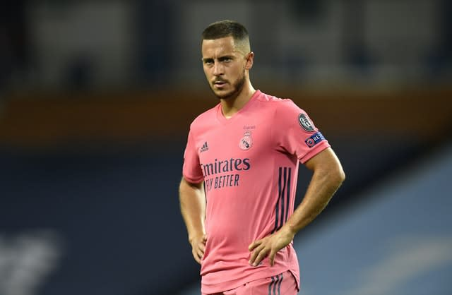 Eden Hazard has managed only one goal for Real Madrid since joining from Chelsea