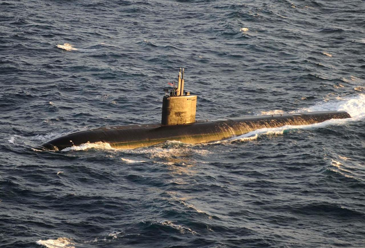 In A 2013 Exercise, A U.S. Submarine Sank A British Aircraft Carrier