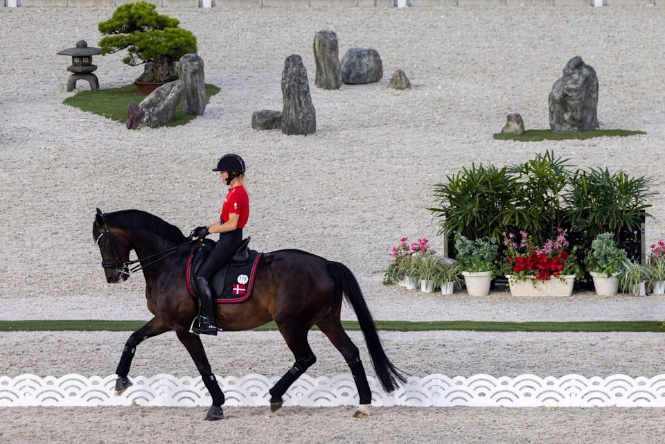 """<p>The equestrian events have a lot going for 'em this year. First of all, Team USA has a bonafide star to watch in Jessica Springsteen (daughter of The Boss). More importantly, the horses have more clout than ever. Over 300 horses <a href=""""https://news.yahoo.com/more-300-horses-traveled-olympics-181142912.html"""" data-ylk=""""slk:flew;outcm:mb_qualified_link;_E:mb_qualified_link;ct:story;"""" class=""""link rapid-noclick-resp yahoo-link"""">flew</a> to Tokyo in cargo planes, with virtually first-class service. I'm sure that's better than your last run with Spirit. </p>"""