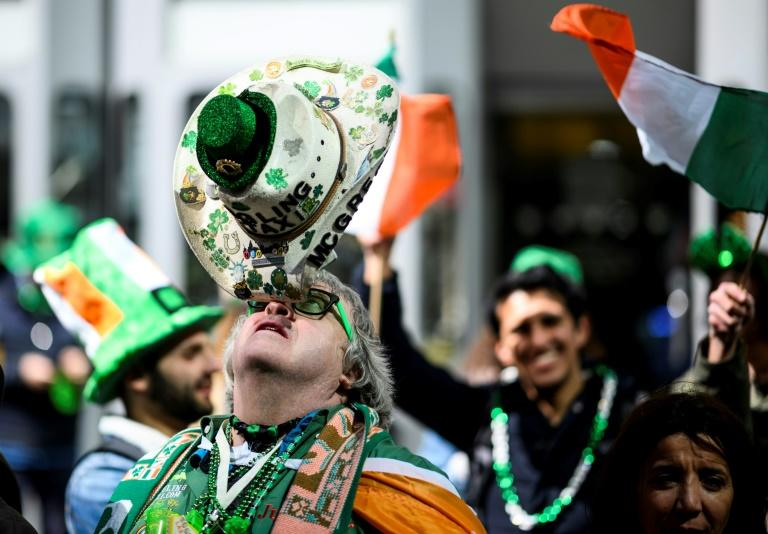 New York postponed its St Patrick's Day parade, which typically attracts two million spectators, for the first time in 250 years (AFP Photo/Johannes EISELE)