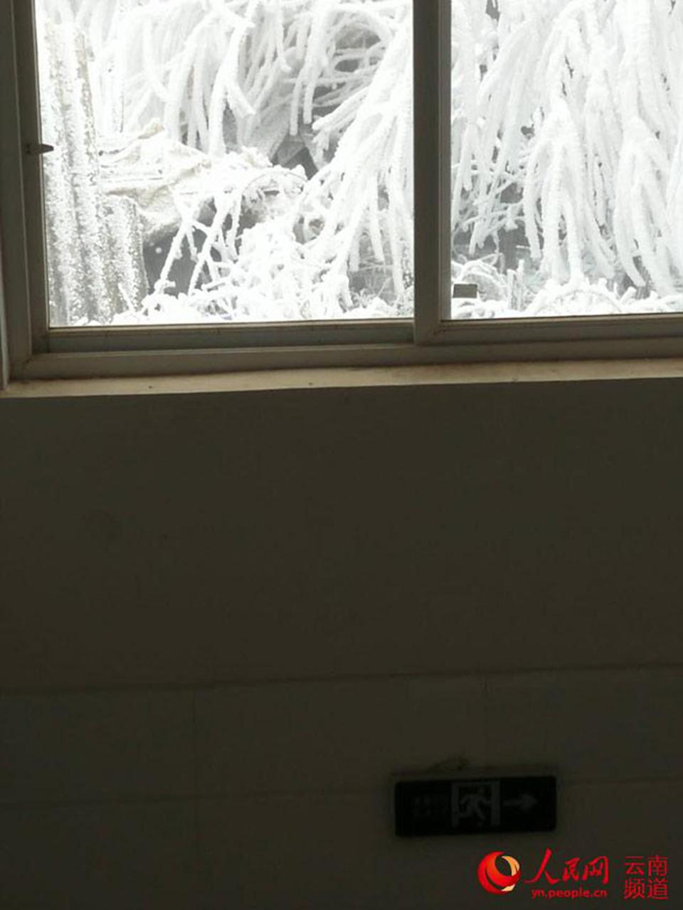 There is no heating in the school (Picture: Asia Wire)