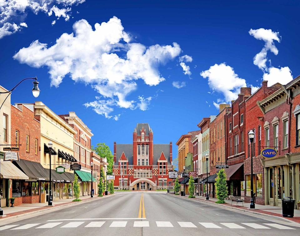 """<p><strong>The Drive: </strong><a href=""""http://www.kentuckytourism.com/lincoln/scenic-byway.aspx"""" rel=""""nofollow noopener"""" target=""""_blank"""" data-ylk=""""slk:Lincoln Heritage National Scenic Highway"""" class=""""link rapid-noclick-resp"""">Lincoln Heritage National Scenic Highway</a></p><p><strong>The Scene: </strong>History fanatics will love driving the 71 miles through this route, which includes the site where Abraham Lincoln's family once settled in Kentucky. Don't forget to take some time to shop and dine along the small towns' Main Streets!</p><p><strong>The Pit-Stop: </strong>Learn about Lincoln's early life in Kentucky at the <a href=""""https://go.redirectingat.com?id=74968X1596630&url=https%3A%2F%2Fwww.tripadvisor.com%2FAttraction_Review-g39365-d6564568-Reviews-Lincoln_Heritage_House-Elizabethtown_Kentucky.html&sref=https%3A%2F%2Fwww.goodhousekeeping.com%2Flife%2Ftravel%2Fg37101557%2Fmost-scenic-drives-in-america%2F"""" rel=""""nofollow noopener"""" target=""""_blank"""" data-ylk=""""slk:Abraham Lincoln Birthplace National Historic Site"""" class=""""link rapid-noclick-resp"""">Abraham Lincoln Birthplace National Historic Site</a>. </p>"""